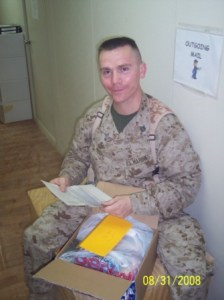Marine McGee With Morale Builder Package