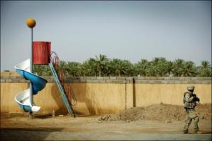 Soldier On Playground