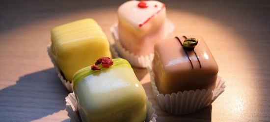 Panties or petit four?