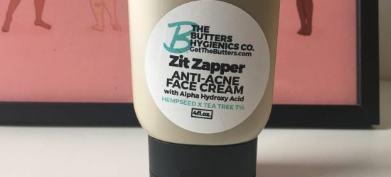 A skin-care novice reviews The Butters Hygienics' zit zapper