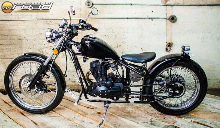 Hihetetlen, hogy ez egy ma gyártott amerikai motorkerékpár
