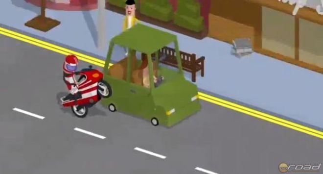 Sokféle motorost látunk a filmben, de a végén mind pórul jár