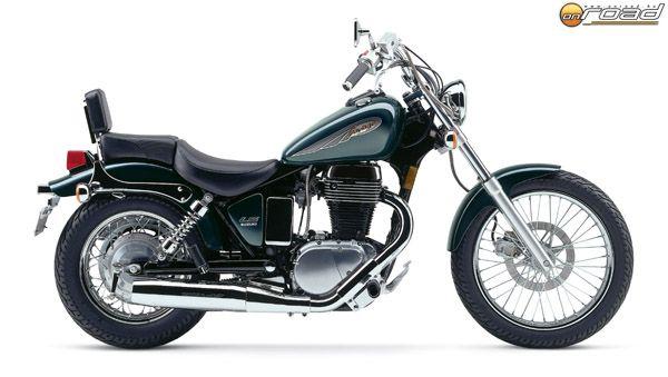 A kiindulási alap: egy eredeti Suzuki Savage