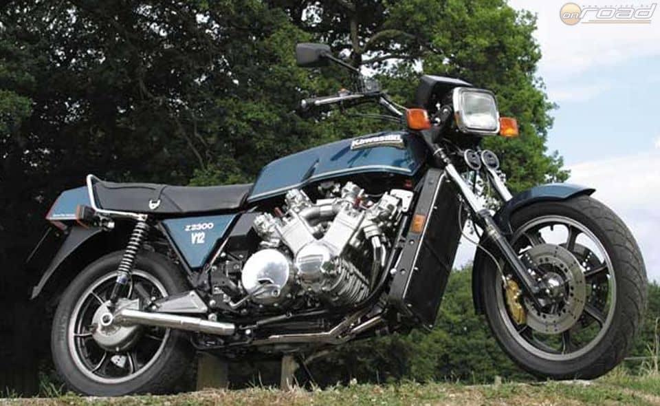 Füst nélkül a V12-es Kawasaki