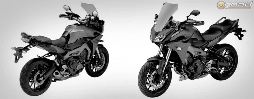 A Yamaha MT-09X hosszabb rugóutakkal és kényelmesebb üléspozíciójával a sikeres, ám kissé idős TDM900-at válthatja majd