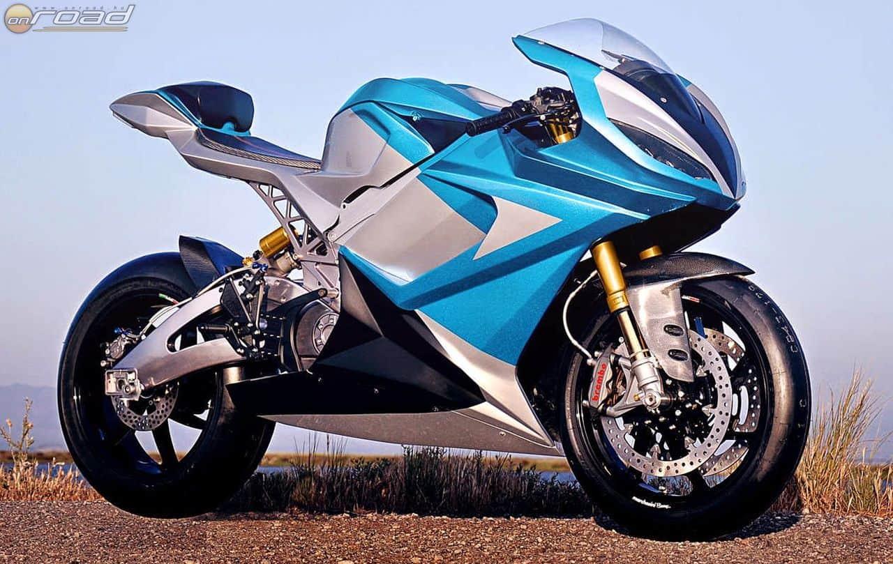 A Lightning LS-218 a világ leggyorsabb szériában gyártott elektromos motorkerékpárja