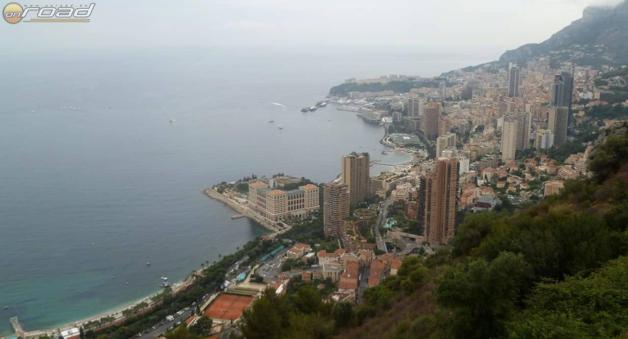 Monacoi panoráma