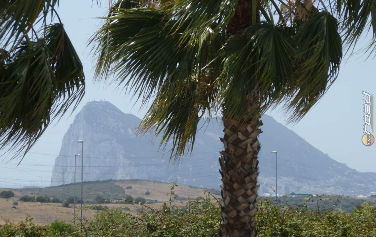 Gibraltár sziklája már messziről jelezte, hogy jó irányba tartunk