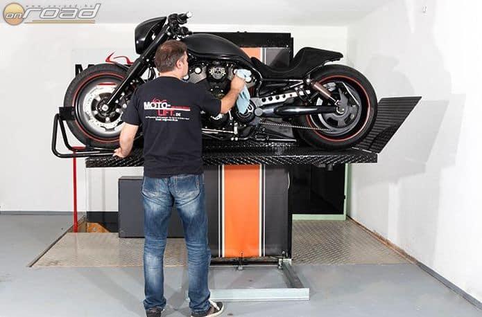Nehéz motorokra más kialakítást kínál a német cég