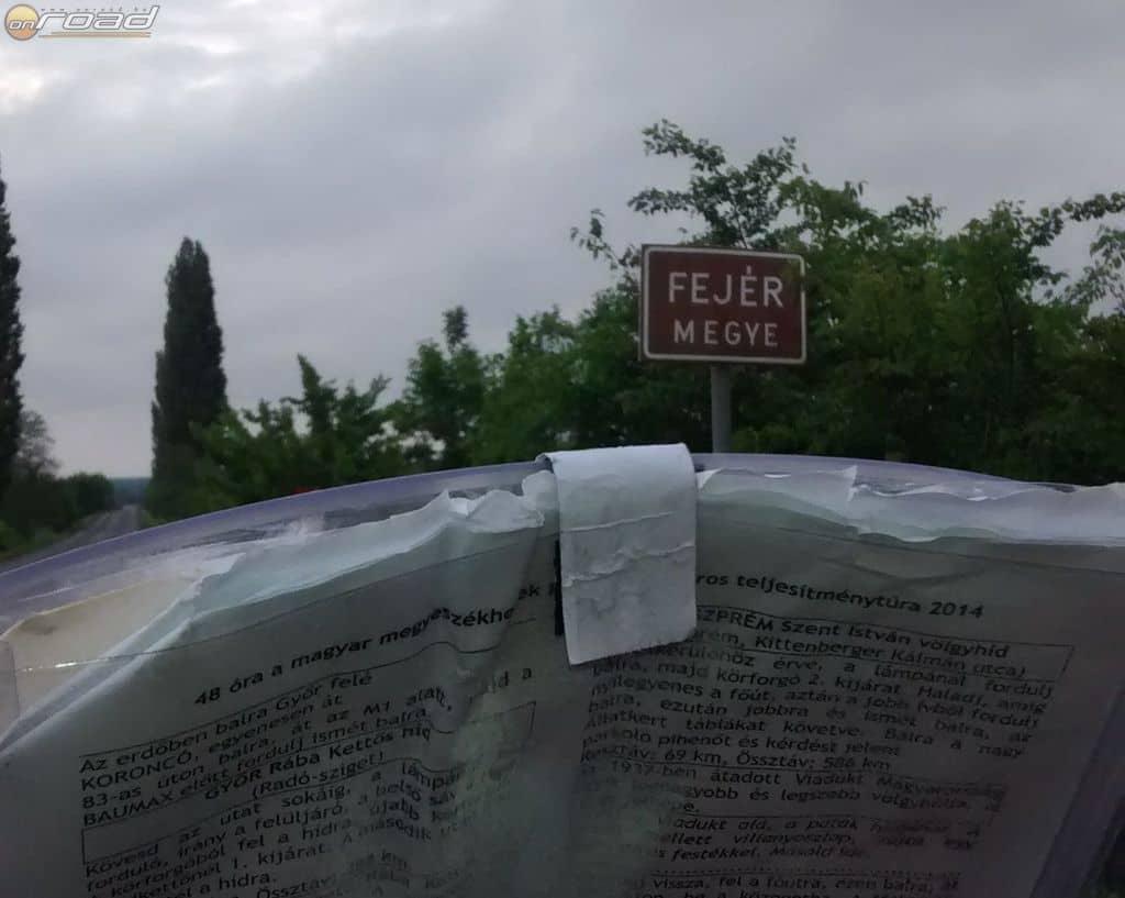 A 2014-es 48 órás a magyar megyék között és az Yvette ciklon jegyében zajlott