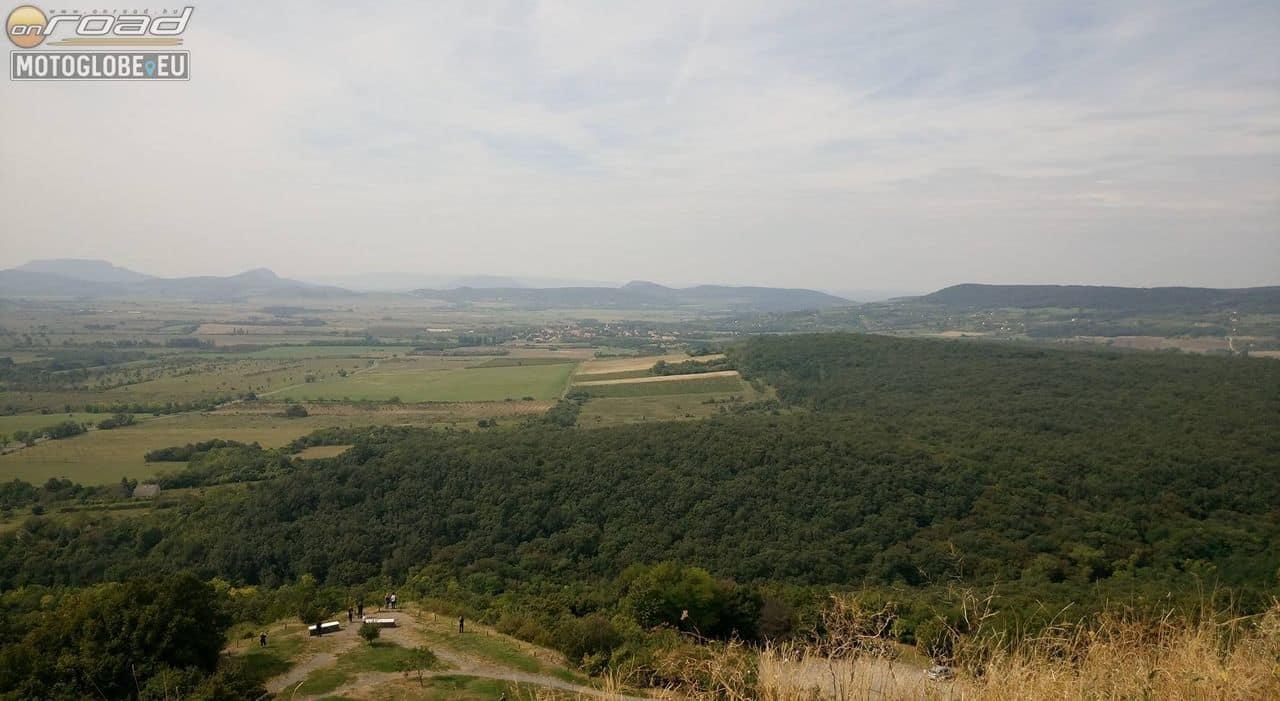 A Balaton-Felvidéket is belátni