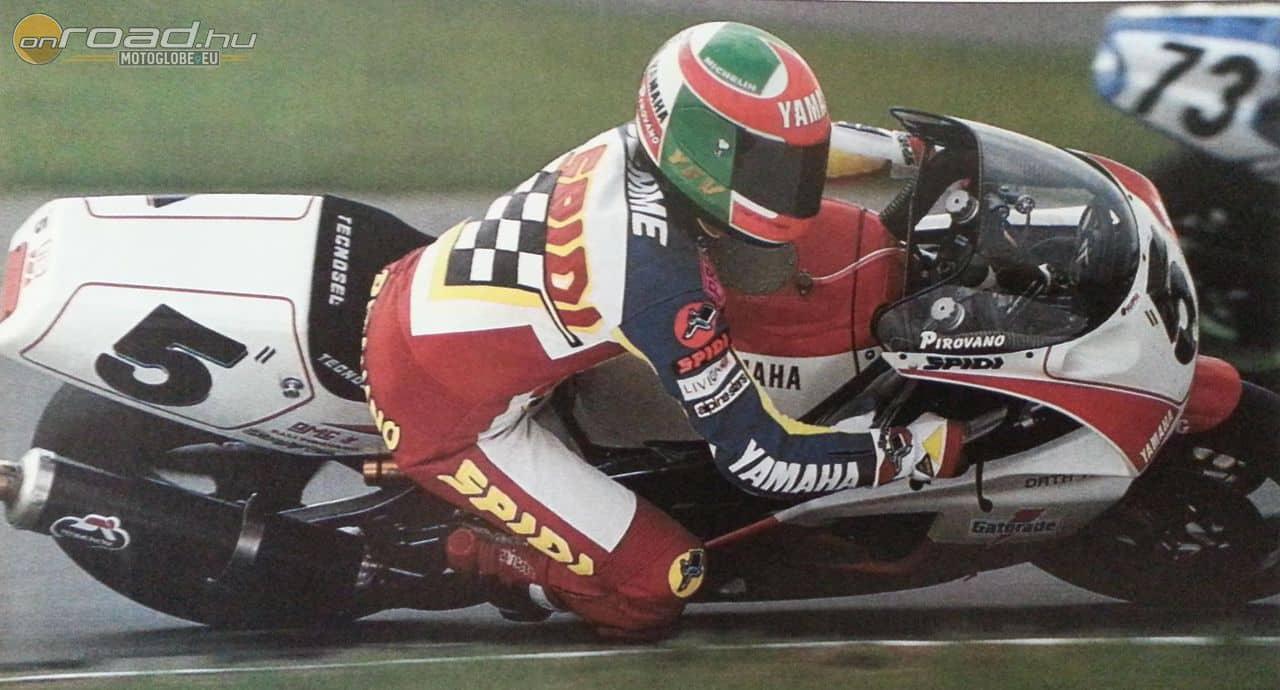 Fabrizio Pirovano réges-régen, verseny közben