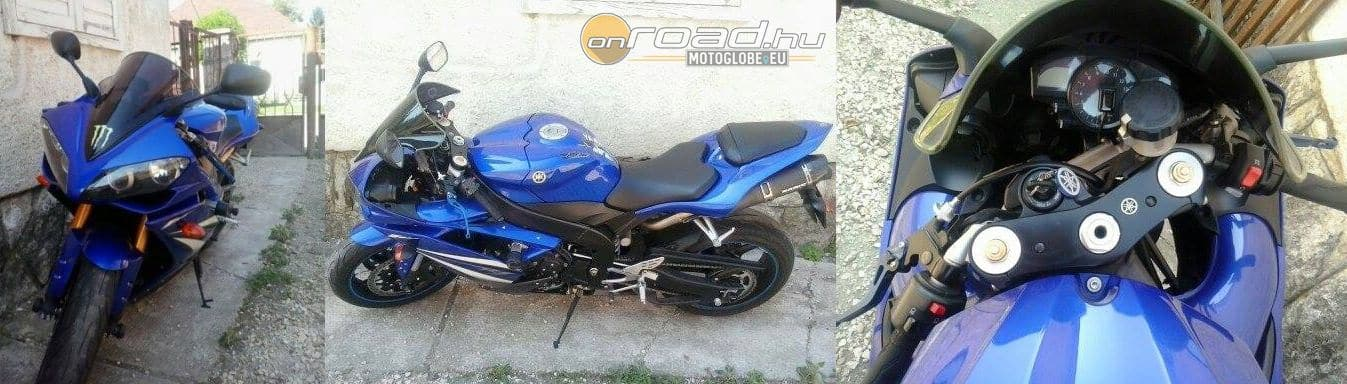 Az ellopott Yamaha R1 több szögből
