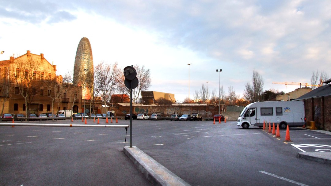 Parking Glorias, Barcelona
