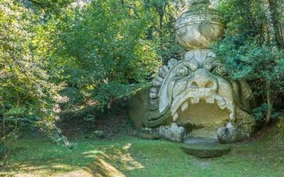 Bosque Sagrado de Bomarzo, el Parque de los monstruos