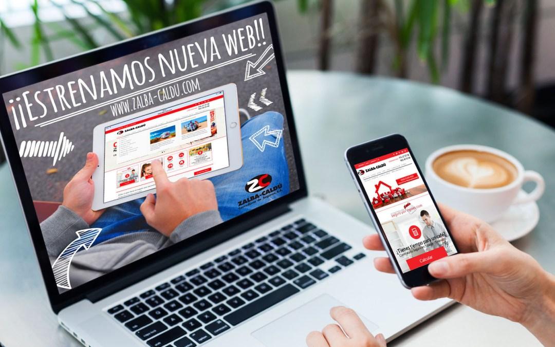 Zalba-Caldú estrena nueva página Web