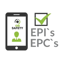 Indique os EPI's e EPC's para os Trabalhadores