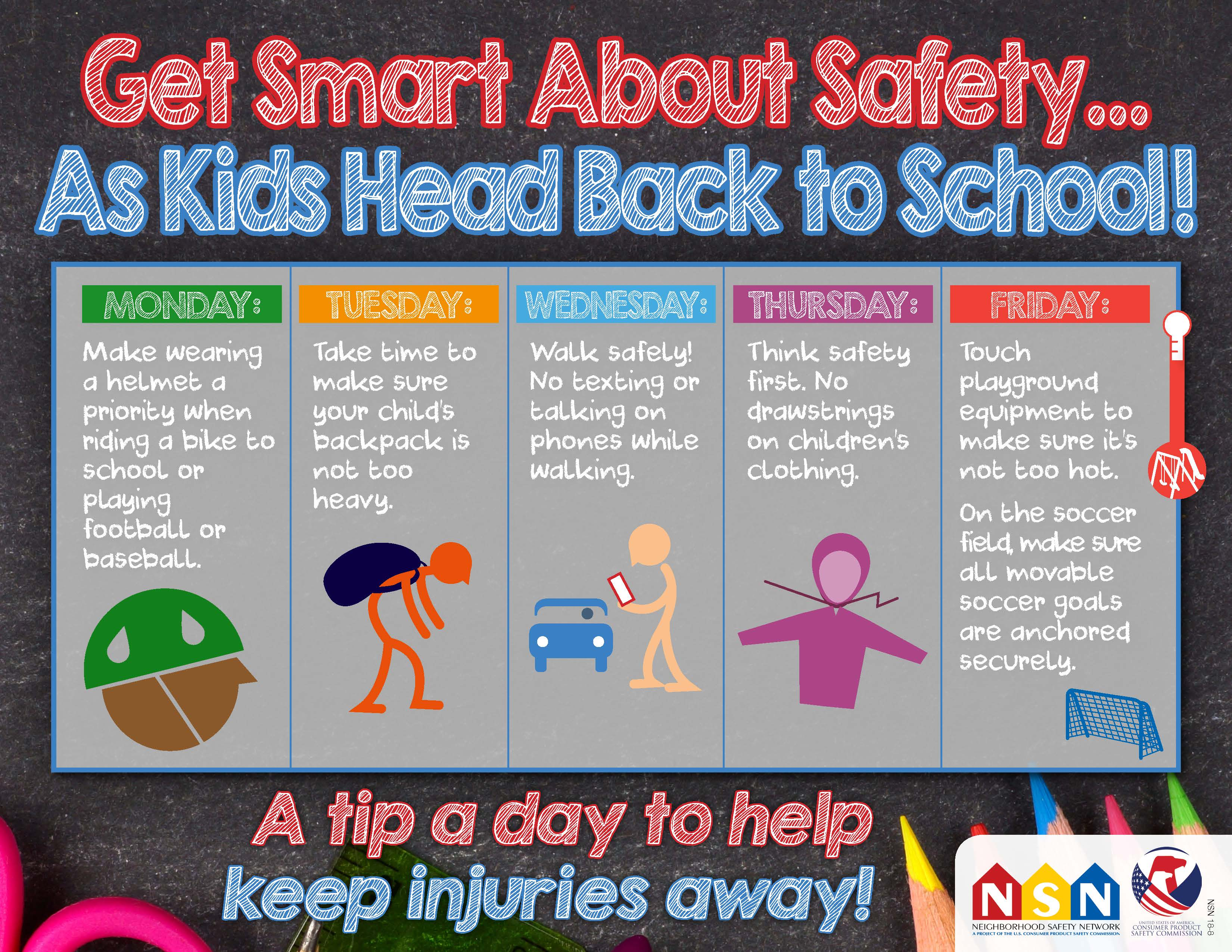 Onsafety Get Smart About Safety As Kids Head Back To School