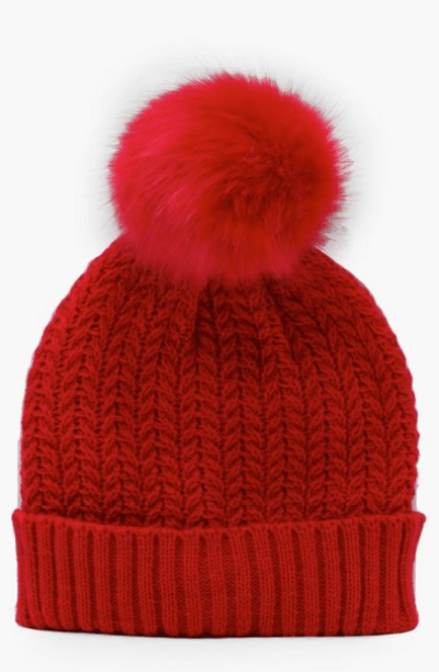 Cable Knit Beanie, $4.80