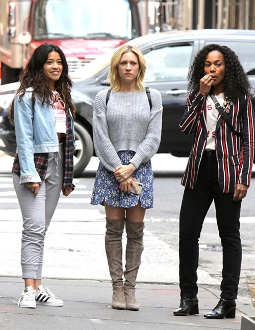 Gina Rodriguez, Brittany Snow and DeWanda Wise in Someone Great   Netflix