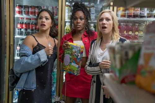 Gina Rodriguez, Brittany Snow and DeWanda Wise in Someone Great | Netflix