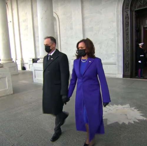 Vice President Kamala Harris' Inauguration 2021 coat