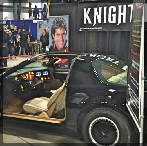 Ottawa Comiccon Knight Rider Car Hasselhof