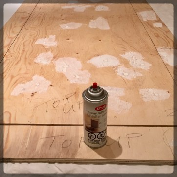 Build Game Table Speed Cloth Foam Glue