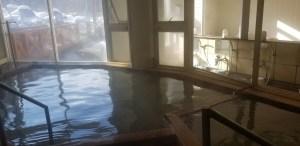 北海道の温泉 パシフィック温泉ホテル清龍園 源泉かけ流し 女子浴室1
