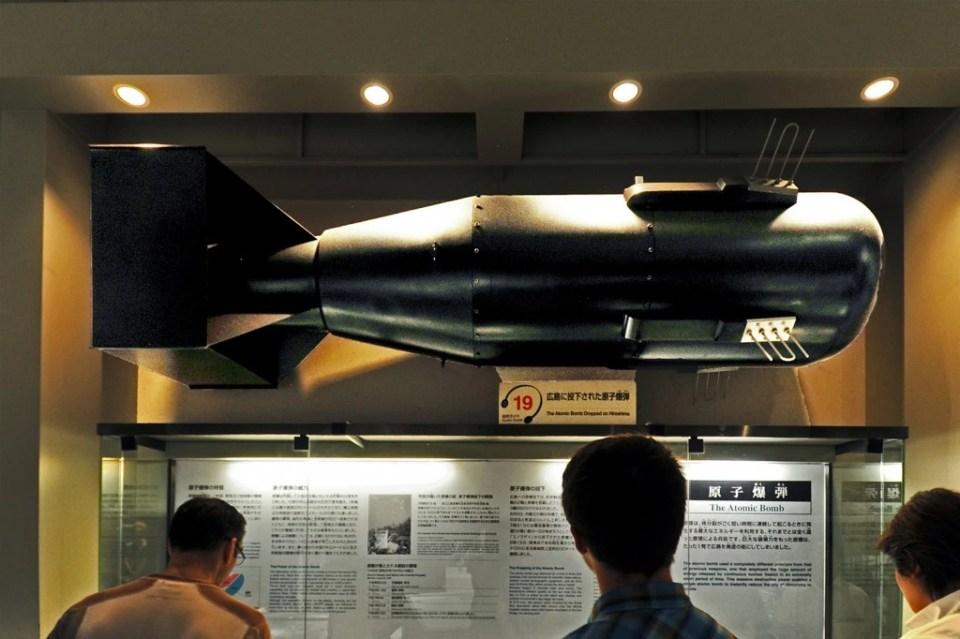 Japon, Chûgoku, Hiroshima, centre pour la paix et musée de la Bombe// Japan, Chugoku, Hiroshima, Peace Center and atomic bomb museum