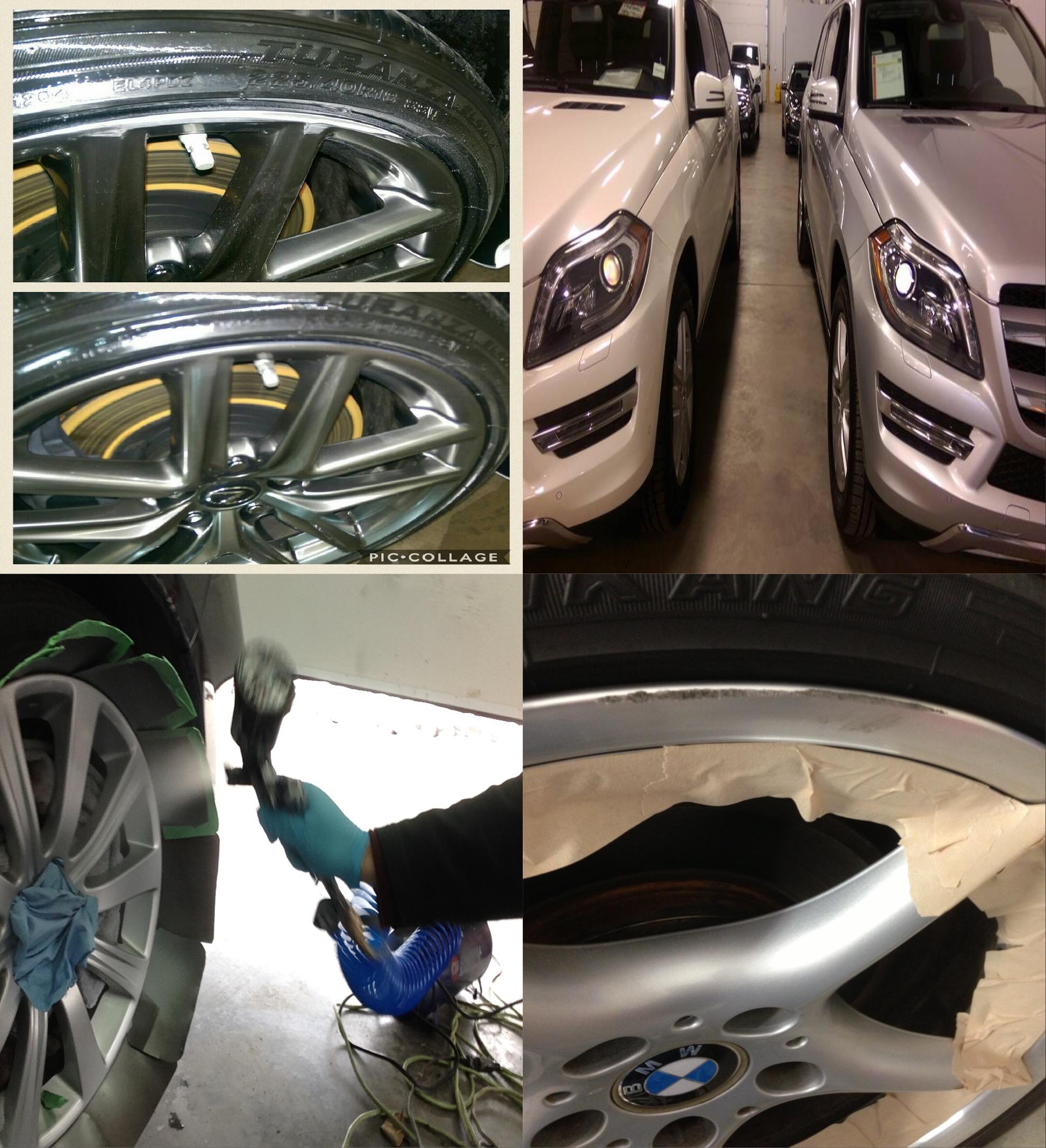 Wheel Refinishing Rim Repair Alloy Rim Repair Edmonton Ab