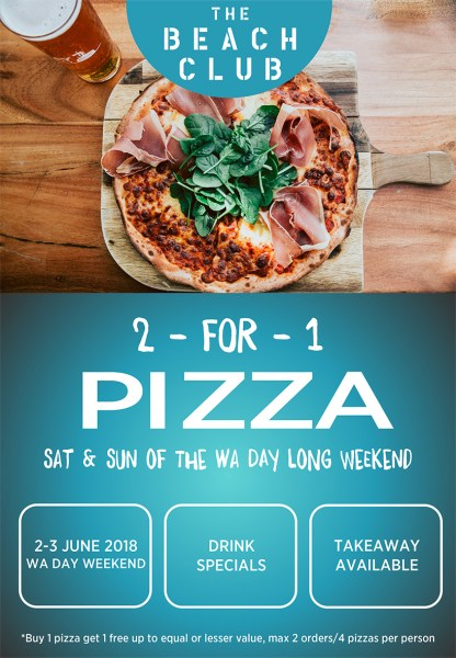 pizza deals onslow karratha exmouth hedland pilbara north west