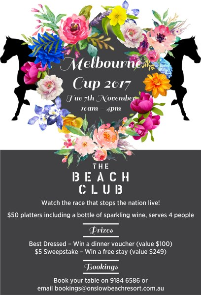 melbourne cup onslow karratha exmouth hedland pilbara north west