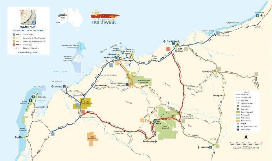 Warlu Way Map