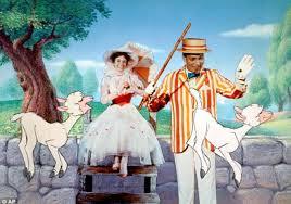 image tirée du film Mary Poppins