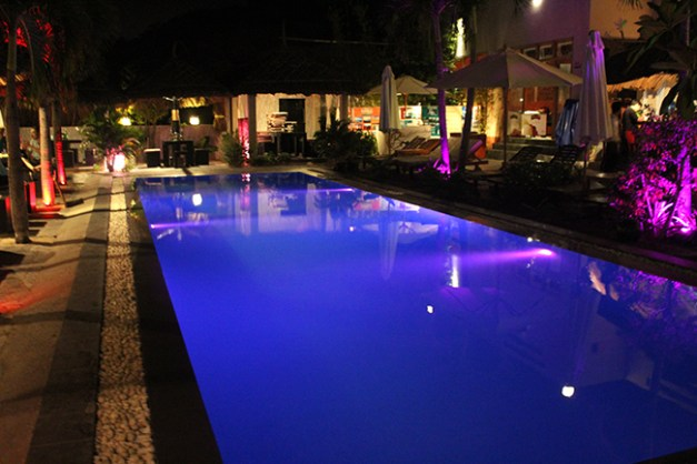 La piscine du restaurant (Mui Ne Hills)