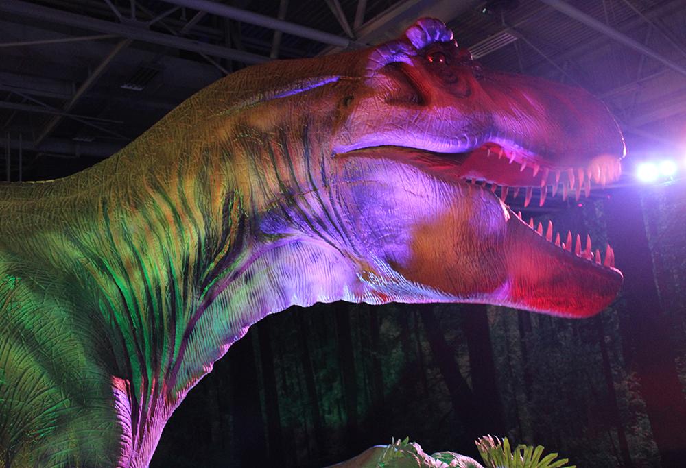 De l re des dinosaures l re de glace au parc des expositions de la porte de versailles - Porte de versailles animaux ...