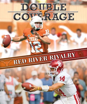 The Daily Texan regularly packages its football preview material in a section called 'Double Coverage.'