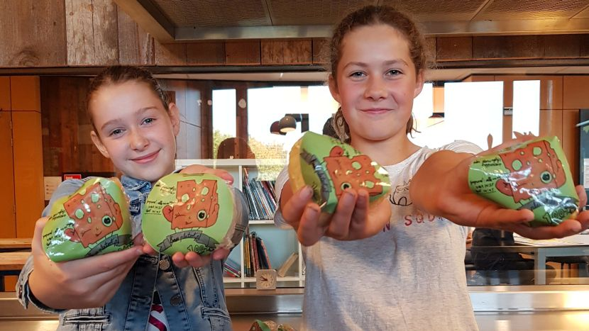 Pop-up kaaswinkel en kookworkshop voor kinderen in de bieb