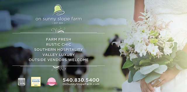Wedding Planning and Wedding Venue - On Sunny Slope Farm