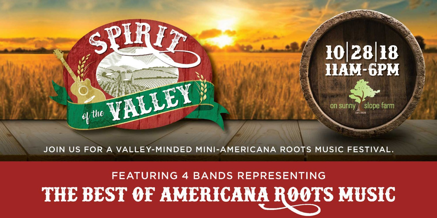 Spirit of the Valley Festival | Roots - Bluegrass Music