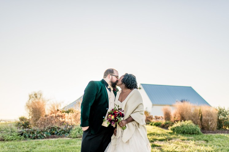 Lauren & Kyle November 10, 2018 Wedding On Sunny Slope Farm Harrisonburg Virginia-12