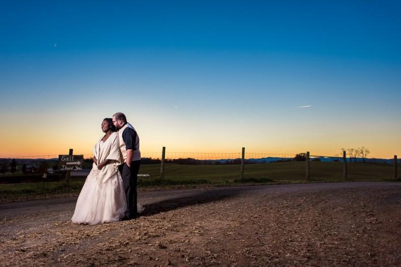 Lauren & Kyle November 10, 2018 Wedding On Sunny Slope Farm Harrisonburg Virginia-16