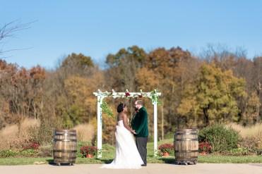 Lauren & Kyle November 10, 2018 Wedding On Sunny Slope Farm Harrisonburg Virginia-3