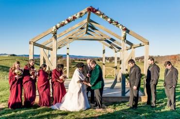 Lauren & Kyle November 10, 2018 Wedding On Sunny Slope Farm Harrisonburg Virginia-8