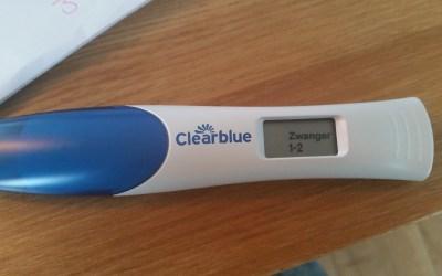 JAAAAA ik ben zwanger