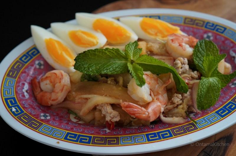 ヤムマクアヤオ(Grilled Eggplant Salad /ยำมะเขือ)