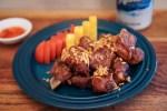 クラドゥクムートード(Kra Duk Moo Tod/กระดูกหมูทอด/Deep Fried Pork Spareribs)