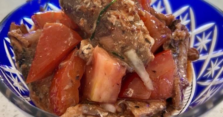 ヤムプラーカポン (Yum Pla Kapong / ยำปลากระป๋อง)