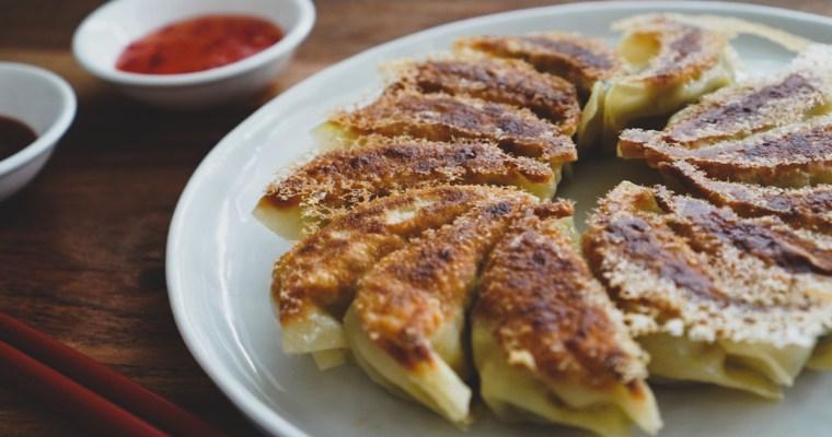 カレー餃子 ( Curry Gyoza)